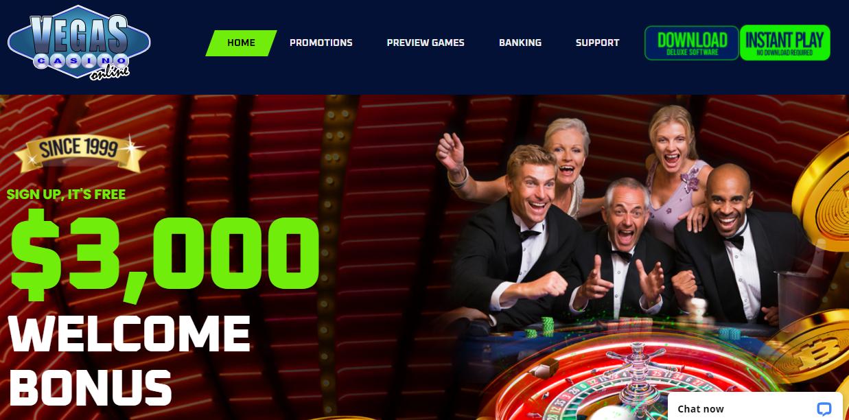 Vegas Casino Online Site