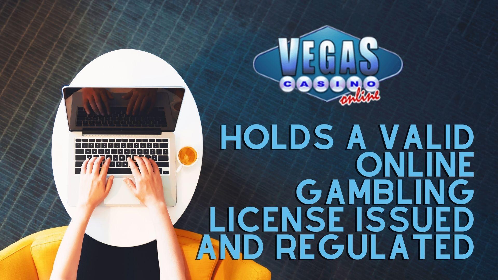 Vegas Casino Online License
